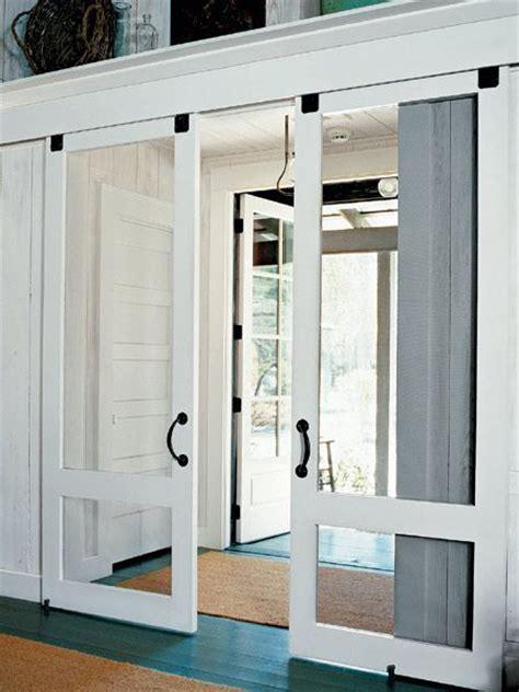 sliding screen door door modern and rustic interior sliding barn door designs