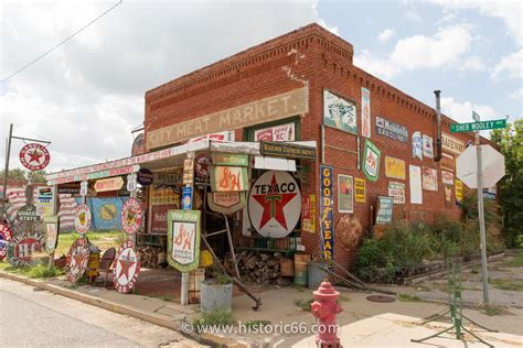 Picture Of Historic Route 66 Historic Route 66 Pictures From Oklahoma