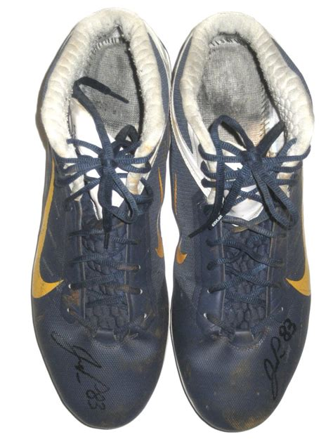 John Phillips San Diego Chargers Game Worn Nike Cleats