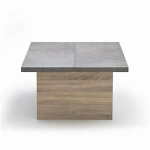 Table Basse Alinéa Bois : table basse alinea milo le bois chez vous ~ Teatrodelosmanantiales.com Idées de Décoration