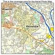 Aerial Photography Map of Kennesaw, GA Georgia