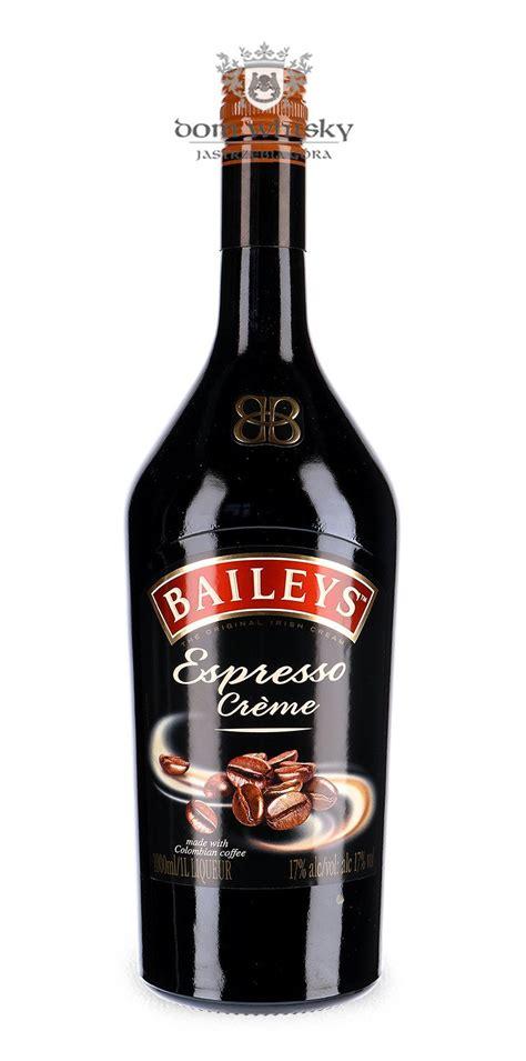 baileys espresso creme   dom whisky