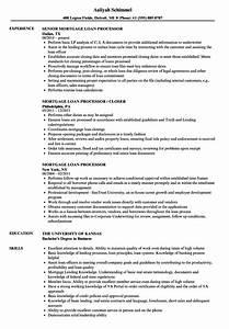 loan processor resume samples annecarolynbird With mortgage loan processor resume template