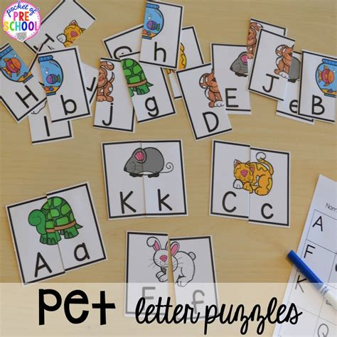 pet themed activities and centers pocket of preschool 733   Slide13