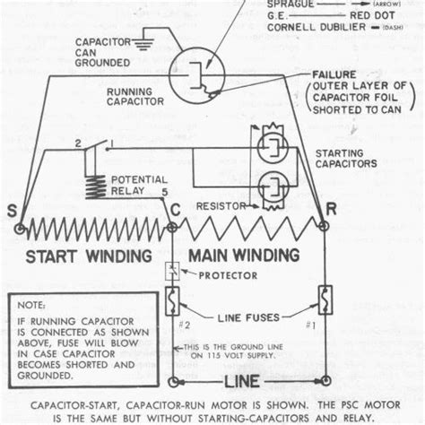 start capacitor inrush facts and myths part 1 hvac school