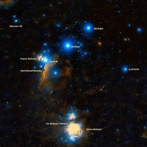 Orion Constellation Location Orion The Hunter Location ...