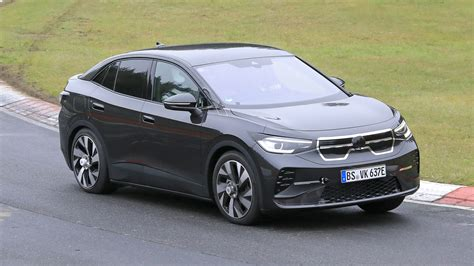 New electric Volkswagen ID.4 Coupe spied testing ...