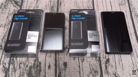 Samsung Galaxy S8 S View Flip Cover by Samsung Galaxy S8 And S8 Plus S View Flip Cover Youtube