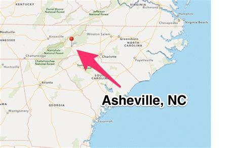 asheville map my