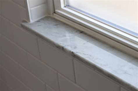 Shower Window Sill by Modern Ugliestbathroomreno Reveal