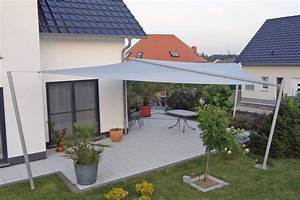 sonnensegel dreieck hohmann sonnenschutz With französischer balkon mit garten segeltuch