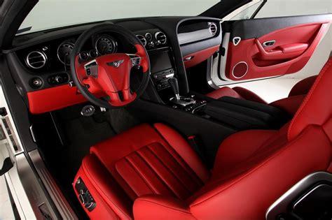 bentley continental gt red  black door panels  seats grey white auto addiction