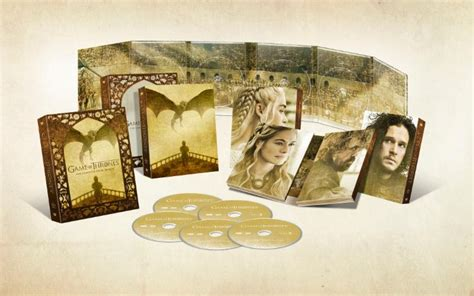 game  thrones season  blu ray coming  march collider