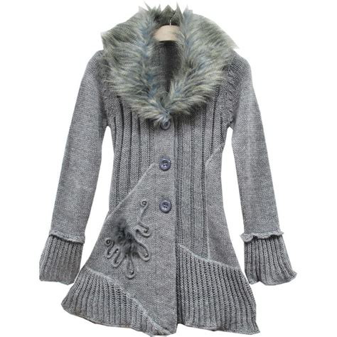 womens sweaters china 39 s cardigans sweater with big fur neck wh80140