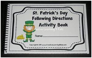 St. Patrick's Day Following Directions Activity Book ...