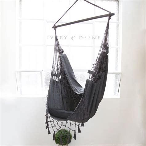 chaise hamac suspendu chaise hamac suspendu deluxe se d 233 tendre dans le par