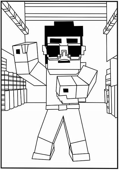 Coloring Minecraft Pages Printable Related Posts Adults