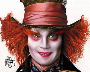 drawing Johnny Depp as The mad Hatter by Heatherrooney on ...