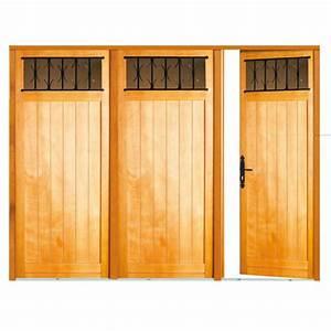 porte interieur bois exotique cobtsacom With porte de garage avec porte a carreaux interieur