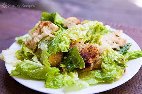 Caesar Salad with Homemade Caesar Dressing Recipe ...
