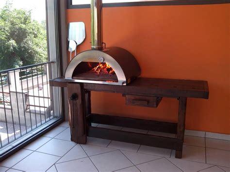 garden pizza oven nonno peppe  lava stone floor