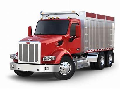 Peterbilt 567 Truck Dump Wheeler Trucks Clipart