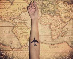 Travel tattoo | tattoo ideas | Pinterest