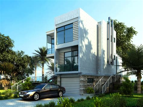 3 Story Home Designs : 32 Modern Home Designs (photo Gallery) Exhibiting Design