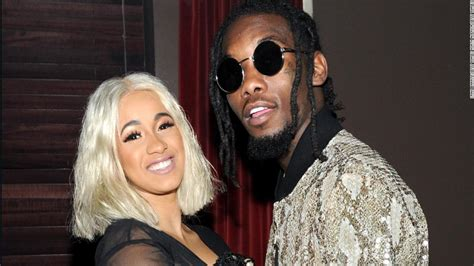 um yeah cardi b soundcloud cardi b and migos rapper offset are now engaged cnn video