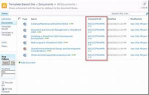 Mirjam39s thoughts on sharepoint for Document library website template