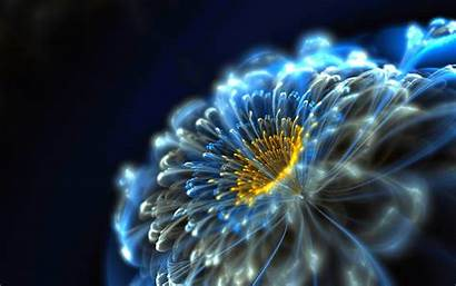Neon Flower Backgrounds Awesome 3d Wallpapers Desktop