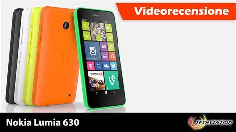 nokia lumia 630 recensione