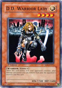 yugioh warrior s triumph structure deck d d warrior lady