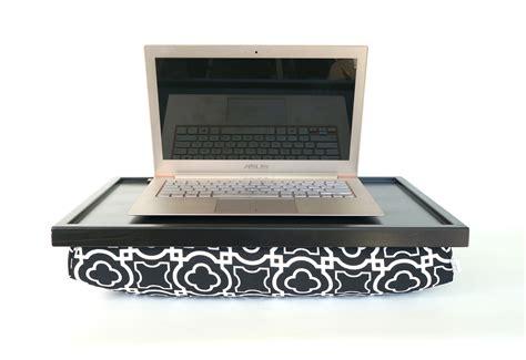 lap desk pillow for ipad ipad stand or laptop lap desk black monohrome graphic