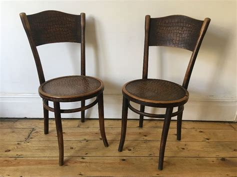 Vintage Thonet Bentwood Cafe Bistro Dining Chairs Poland