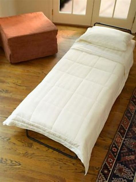 Fold Out Ottoman Bed by Guest Sleepers Fold Out Ottoman Bed