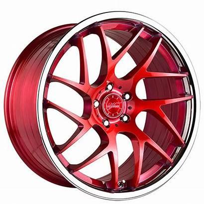 Wheels Chrome Lip Rims Vertini Brushed Rfs1