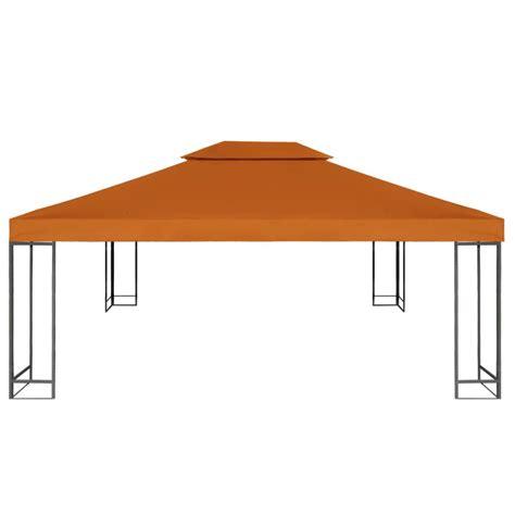 Gazebo Waterproof Waterproof Gazebo Cover Canopy Terracotta 10 X 13