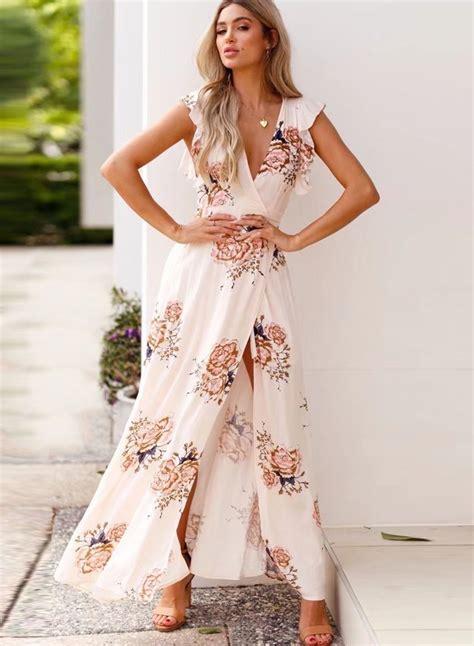 Fashion Silket V Neck fashion slim floral printed sleeveless v neck slit