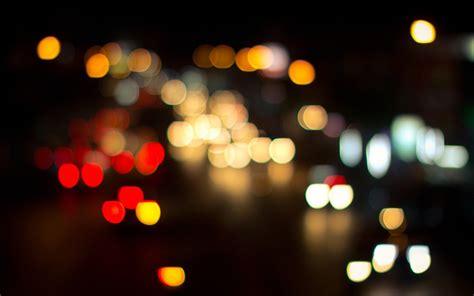 city lights nighttime bokeh bokeh photography hd