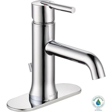 Delta Trinsic Faucet Bathroom by Delta Trinsic Single Single Handle Bathroom Faucet