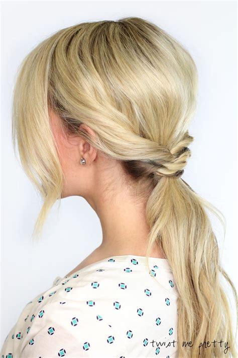 woven ponytail twist  pretty