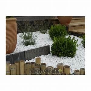 Galet Marbre Blanc : galets blancs de marbre pour parterre et jardin neoverda ~ Nature-et-papiers.com Idées de Décoration