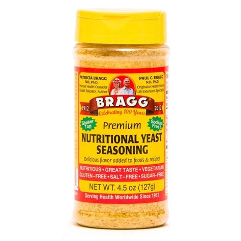 nutritional yeast bragg premium nutritional yeast seasoning from natural grocers instacart
