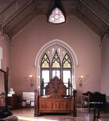 beautiful image of an american victorian gothic interior