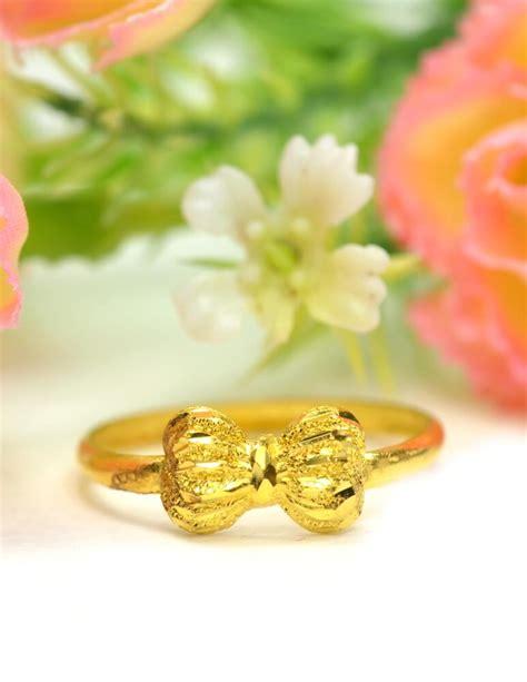 แหวน ทองคำแท้ ลายโบว์ หนัก 1 กรัม - ห้างทองพรทวี
