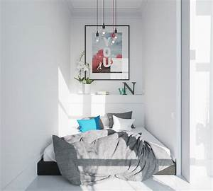 Aménagement Petite Chambre : 29 id es pour un am nagement chambre coucher parfait ~ Melissatoandfro.com Idées de Décoration