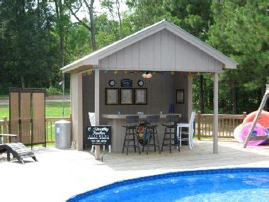 pool sheds with bars best 25 pool bar ideas on bbq area garden