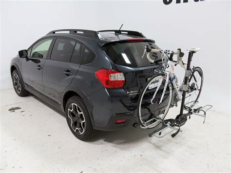subaru crosstrek bike rack subaru xv crosstrek swagman xtc 2 2 bike platform rack for