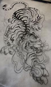 Pin by tea pot on Tatts   Japanese tiger tattoo, Japanese ...